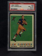 1959 Topps Football #95 Lew Carpenter  psa 8