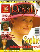 SOPHIE RHYS JONES UK Royalty Magazine VOL 15 NO 11 QUEEN ELIZABTH MOTHER