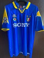 Maglia JUVENTUS DEL PIERO FINALE CHAMPIONS 1996 vintage shirt serie A no Worn