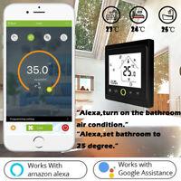 le wifi thermostat eau / électriques régulateur de température touchez l'écran
