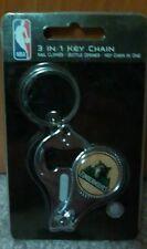 NBA Minnesota Timberwolves 3 in 1 Keychain Nail Clipper Bottle Opener Free Ship