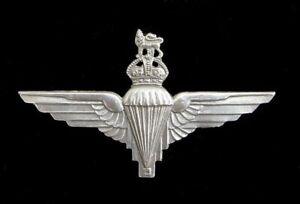 Parachute Regiment Cap Badge Hallmarked Silver