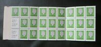 """`CANADA STAMPS  #BK81 (789b) MINT 1979 """"QE2  BOOKLET PANE"""""""