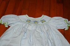 Castles and Crowns 4t butterfly smocked dress  cute!!