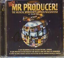 Sir Cameron Mackintosh's 'Hey Mr Producer' cd, hand signed in person by Cameron.