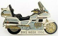 Daytona Bike Week 1996 Florida Motorcycle Vintage Pin