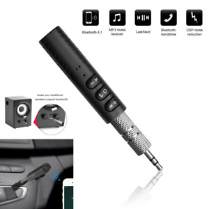Wireless 3.5mm Car Bluetooth Receiver Receptor Audio Speaker Adapter Atavoz AUX