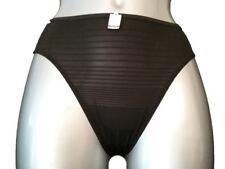 Polyester Striped Regular Size Thongs for Women
