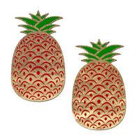 Cache-tétons nippies pasties adhésifs fruit ananas pineapple effet paillettes