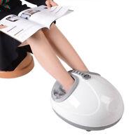 Electric Shiatsu Heat Kneading Foot Calf Leg Massager Rolling Massage Machine