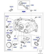LAND ROVER GENUINE HEADLAMP- Range Rover (L322) -LR035529