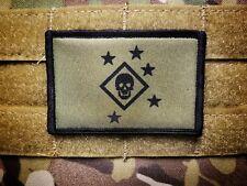 Marine Raider OD Green 2x3 Tactical Hook Morale Patch MARSOC USMC Marines Marpat