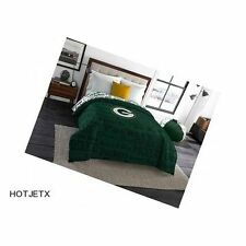 GREEN BAY PACKERS BEDDING COMFORTER TWIN FULL NFL FOOTBALL SUPERBOWL GPS HD TV