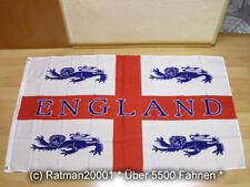 Fahnen Flagge England mit 4 Löwen Sonderposten - 90 x 150 cm