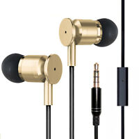 Super Bass In-Ear Kopfhörer EIOASI X6 Pro Earphone Headphone Beats Gold