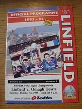 16/10/1993 Linfield v Omagh Town  (No obvious faults)