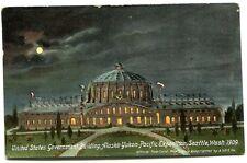 Seattle, Wash., Alaska Yukon Pacific Expo 1909, View ofU. S. Government Building