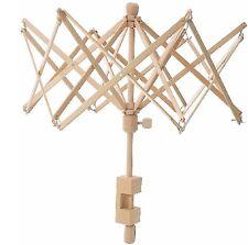 F1 Swift Yarn Winder Umbrella Wooden Yarn Swift Ball Winder High Quality 6 Ft