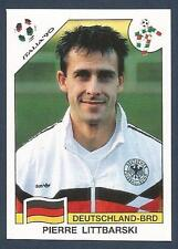 PANINI WORLD CUP STORY #208-ITALIA 90-DEUTSCHLAND-BRD-GERMANY-PIERRE LITTBARSKI