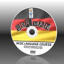 parler allemand PC DVD Cours de Langue facile à apprendre débutant programme