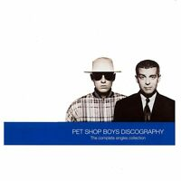 PET SHOP BOYS DISCOGRAPHY: THE COMPLETE SINGLES COLLECTION CD (GREATEST HITS )