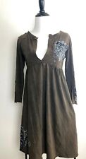 Bejeweled by Susan Fixel Dress XS Cotton Couture Cowgirl Rock n Roll Rhinestone