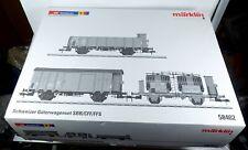 Märklin LEERKARTON 58402 Güterwagen SET Gottardo SBB Leerverpackung OVP Spur 1