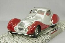TALBOT LAGO T150 C-SS COUPE 1937 SILVER RED MINICHAMPS 107117121 1/18 300 PIECES