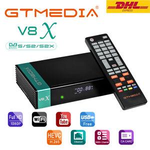 GTMEDIA Satelliten TV-Receiver Full HD TV Tivusat DVB-S2 Sat Decoder 1080P HDMI