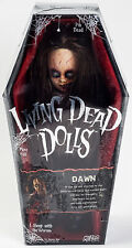 SEALED Dawn Living Dead Dolls Horror Gothic Doll in Coffin Box Zombie Red Head