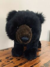 Black Bear Footrest Footstool Ottoman by Ditz Design HTF