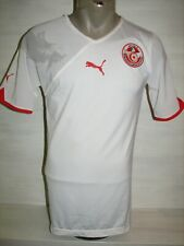 TUNISIA 2010-11 HOME PLAYER ISSUE SHIRT PUMA SIZE L