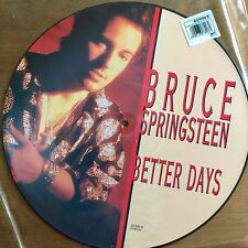 "Bruce Springsteen - Better Days 12"" Picture Disc Vinyl"
