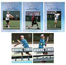 Tennis Instructional DVDs - Buy 3 and get 2 free  - Also Free Shipping!!