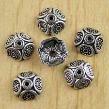 70pcs Tibetan silver dotted spacer beads H0148