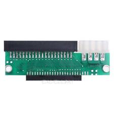 3.5 IDE Male to 2.5 IDE Female 44pin to 40pin Converter Adapter Card E0Xc