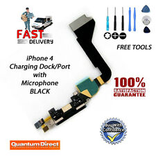 Neu IPHONE 4 Ersatz USB Ladegerät Dockingstation / Port + Mikrofon W / Tools -