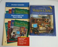 Writer's Choice 11 Florida Glencoe McGraw-Hill Grammar Composition Research Lit.