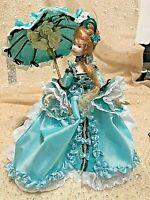 "1/12th scale dollhouse lady  "" Blue Willow "" OOAK  by Bonita."