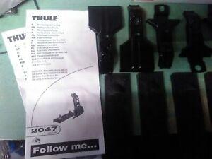 thule fit kit #2047 vw jetta golf new*