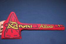 "Vtg Atlanta Braves World Champions 15 1/2"" Tomahawk Foam Hard Semi-Rigid Shaft"