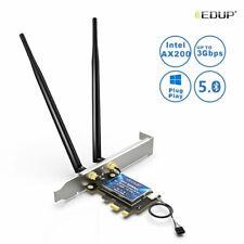 3000Mbps Intel AX200 WiFi 6 802.11 ax WiFi Adapter EDUP PCI-E Wireless Card
