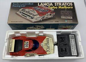 Nikko Lancia Stratos Turbo Marlboro Radio Controlled Scala 1/16 RC Vintage 80'