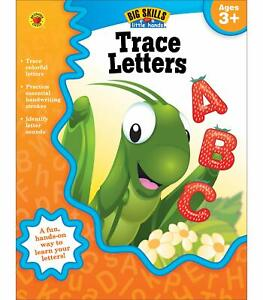 Trace Letters Workbook—Alphabet, Letters, Sounds, Handwriting Practice, Tracing