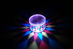 Set of 2 LiteRays LED Light Up Projection LitePod Drink Accessory- Kaleidoscope