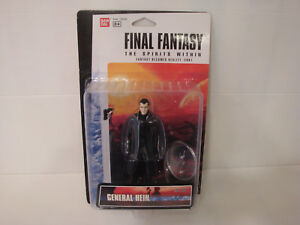 Final Fantasy The the Spirits Within Figurine Bandai 13cm Mint: General Hein