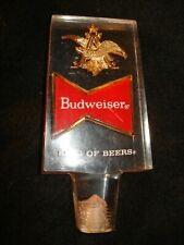 Vintage Budweiser Lucite Tap Handle