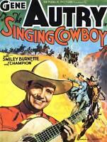 FILM MOVIE SINGING COWBOY GENE AUTRY WEST ART PRINT POSTER BB7898