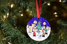 Charlie Brown and Snoopy with the Gang Christmas Ornament