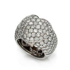Beautiful Shiny 6.25CT Round Cubic Zirconia Women's Best Engagement Heart Ring